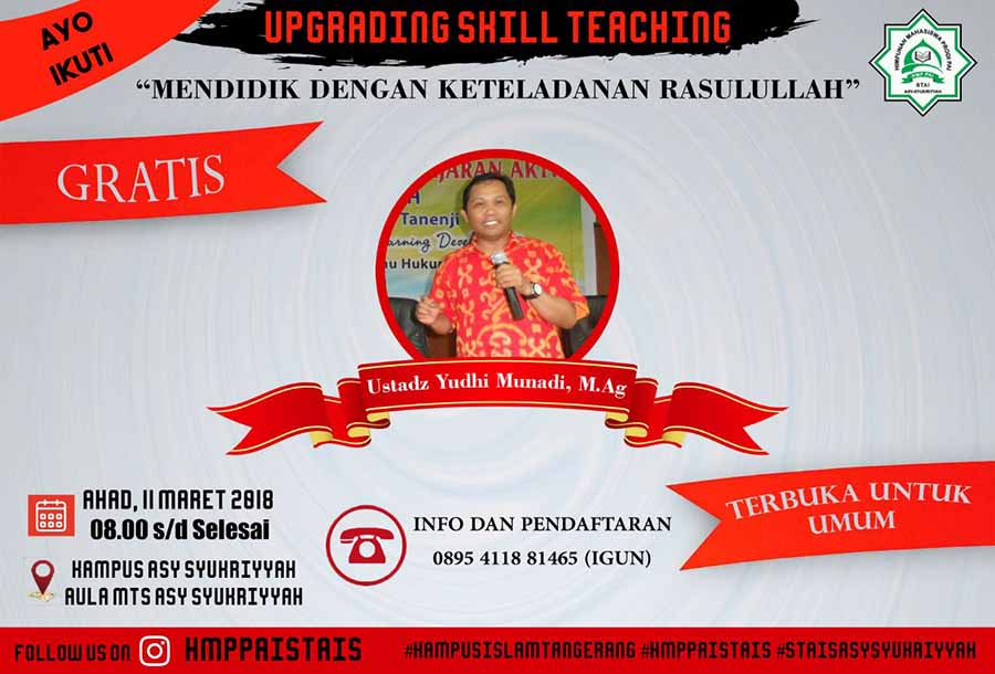 Upgrading Skill Teaching